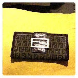 Super cute  Signature  Fendi wallet